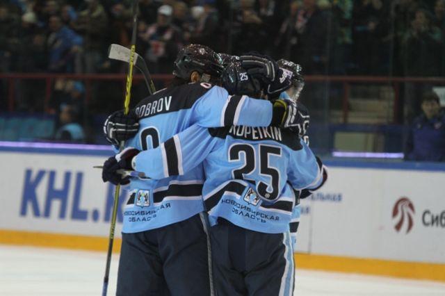 «Сибирь» одолела «Югру» вматче постоянного чемпионата КХЛ