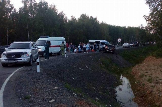 Все пострадавшие доставлены в больницу.