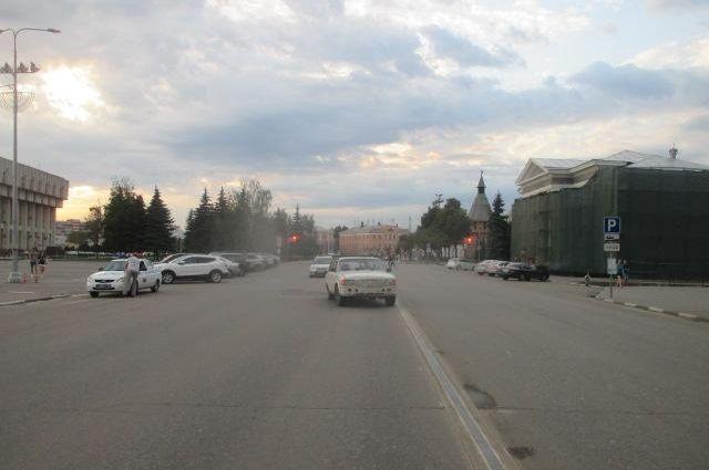 Автомобиль сбил ребенка наСветлановском проспекте