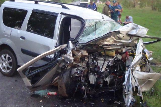 ВТамбовской области ДТП забрало жизни 5-ти человек