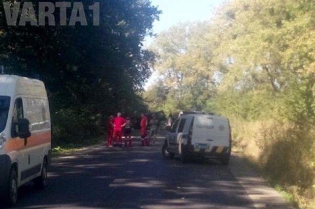 Под Львовом взорвался автомобиль: погибли трое людей