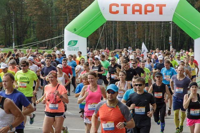 Брянская бегунья выиграла Тульский марафон
