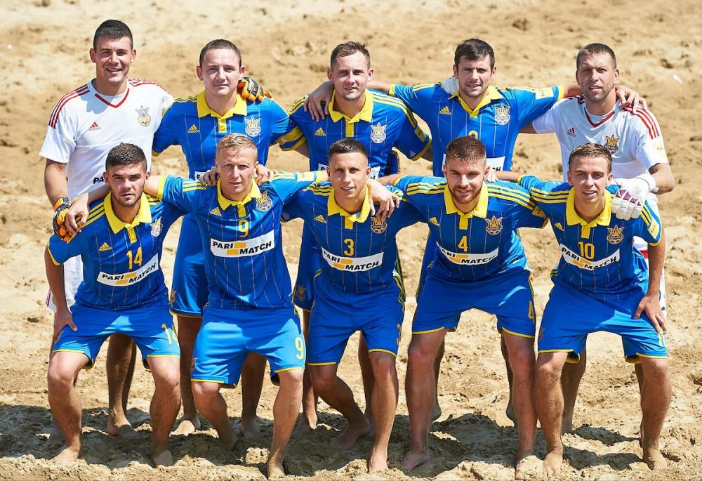Состав сборной Украины по пляжному футболу выглядел именно вот так