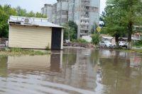 После дождей в Заречье потоп