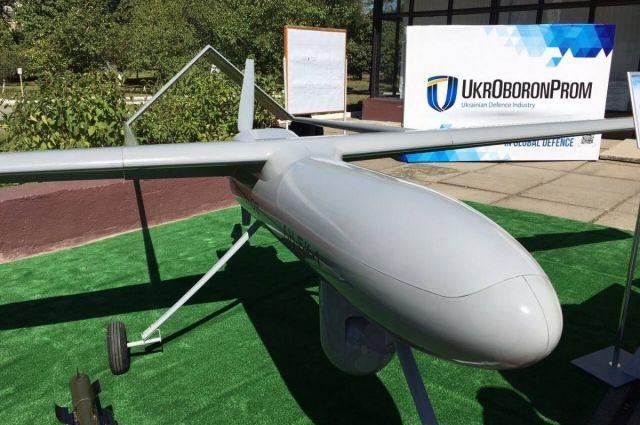 Укроборонпром впервый раз продемонстрировал новый боевой беспилотник «Горлица»