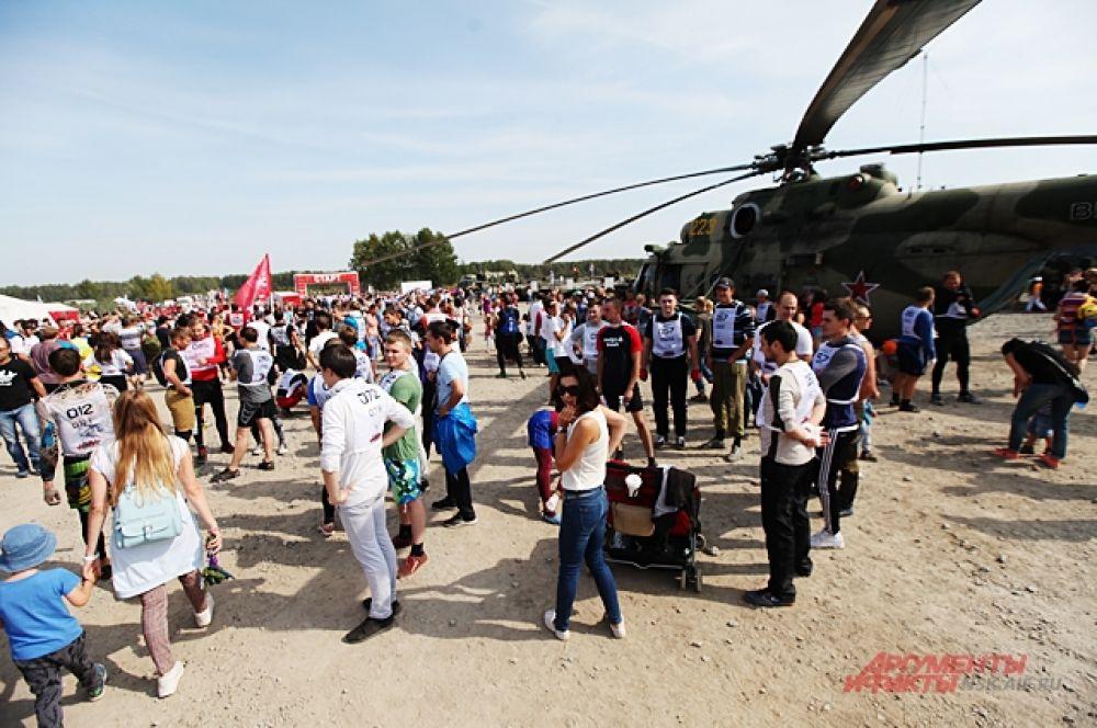 Участников оказалось на мероприятии гораздо больше, чем болельщиков.