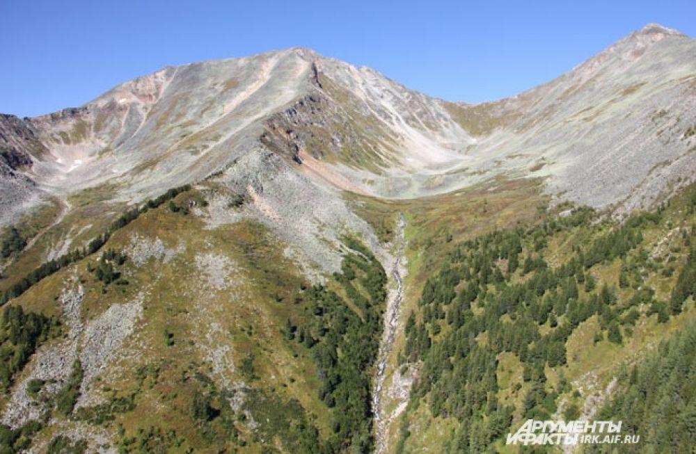 Примерно 90% занимают таежные ландшафты, остальная часть территории представляет собой горную тундру, с хребтами высотой от 1600 до 2924 метров, ущельями, каньонами и гольцовыми террасами, практически непригодную для проживания людей.
