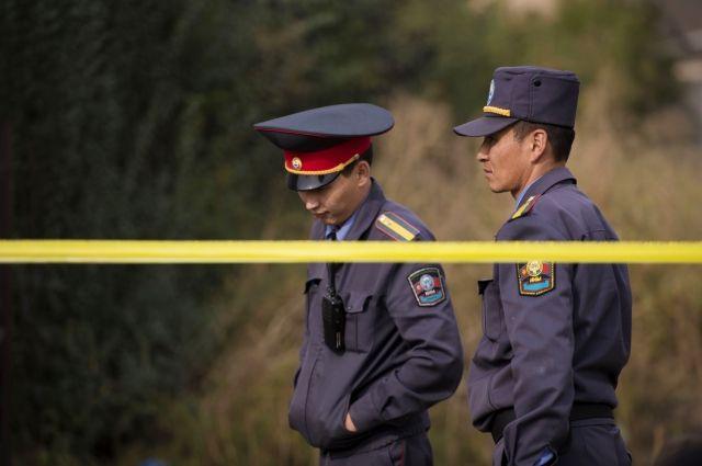 Наюге Бишкека уздания посольства Китая произошел взрыв