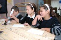 Школьники смогут научиться обращаться с гусиным пером и чернилами.