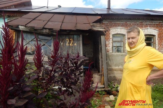 Инвалид второй группы Валентина Жубрина живёт с мамой-инвалидом, тружеником тыла, в этом доме