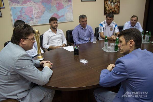 Президент федерации и министр обсуждали планы на будущее
