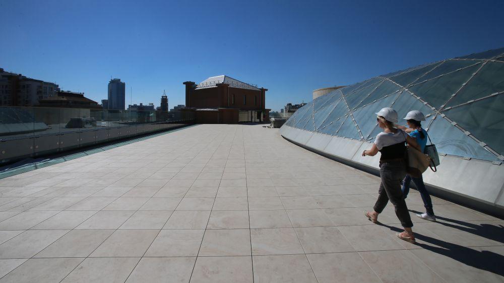 На крыше будет размещен бар и летняя площадка
