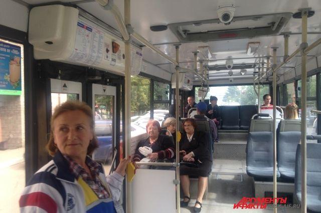 В городе стартовала акция «Чистый автобус.