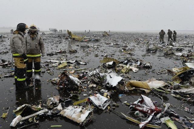 СМИ: пилоты разбившегося в Ростове самолета были психически уравновешены