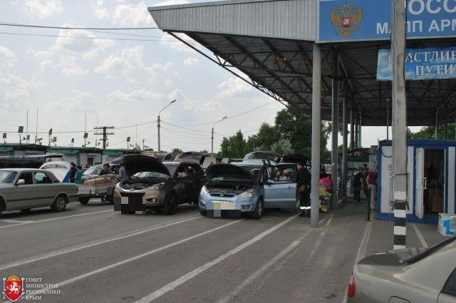 Крымские таможенники задержали 2-х жителей государства Украины