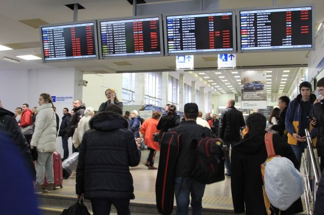 Пассажиры полдня ждут чартера в Тунис