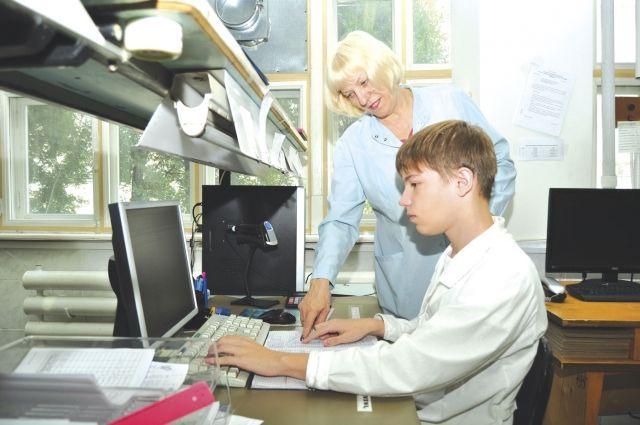 Артём Тоичкин и его наставник Ольга Кулик.