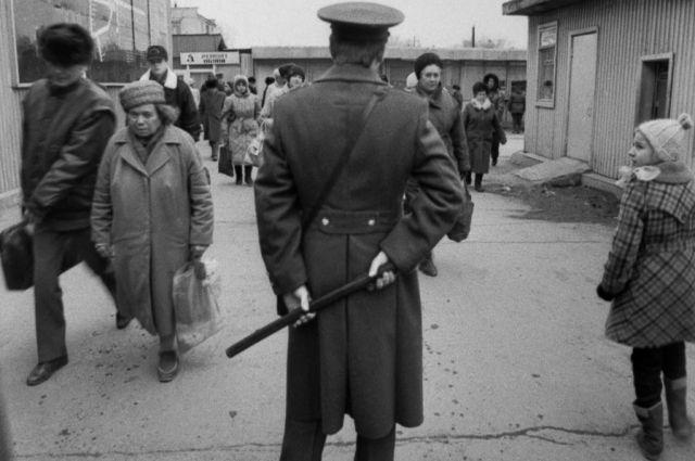 В рядах участников винного бунта были не только хулиганы и бандиты.