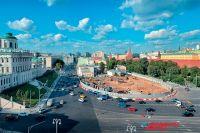 4 ноября на Боровицком холме будет открыт памятник князю Владимиру, уже идёт заливка фундамента.