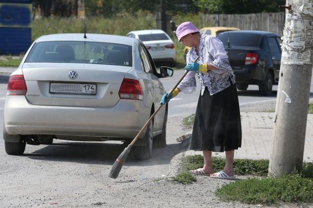 5 451 южноуралец был на общественных работах в этом году.