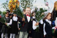 В школе №70 в первый класс поступили больше 200 юных учеников.