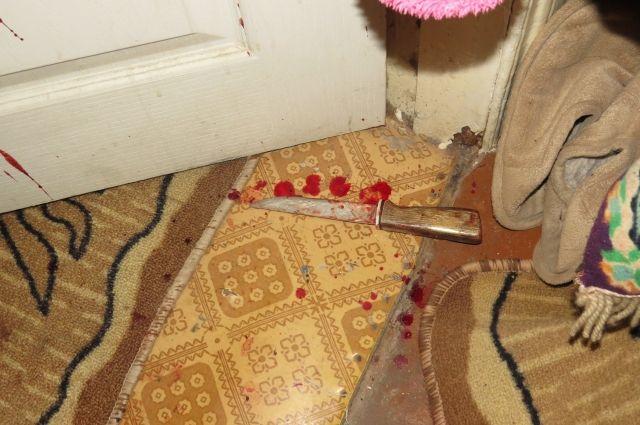 Бузулукские работники милиции задержали 46-летнюю женщину, которая нанесла ножевое ранение мужчине