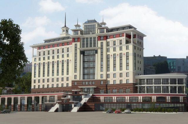 Проект гостиничного комплекса «Одис Отель»