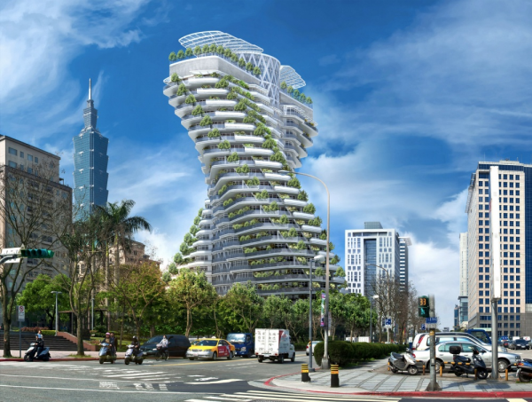 Это 20-этажное здание Agora Garden должно быть построено к концу 2016 года. Особенностью этого здания является поддержка балконов садами