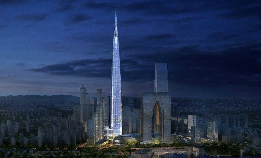 Чжуннань-центр в Сучжоу планируется достроить к 2020 году. Это может стать третьим по высоте зданием в мире