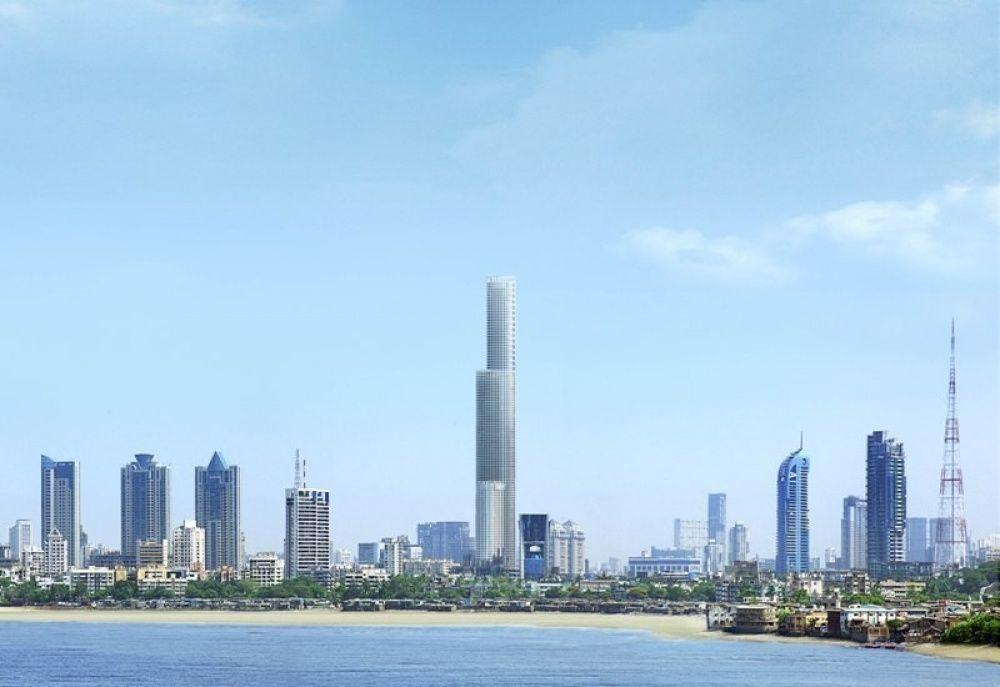 А это самый высокий жилой дом на планете под названием World One, который находится в Индии