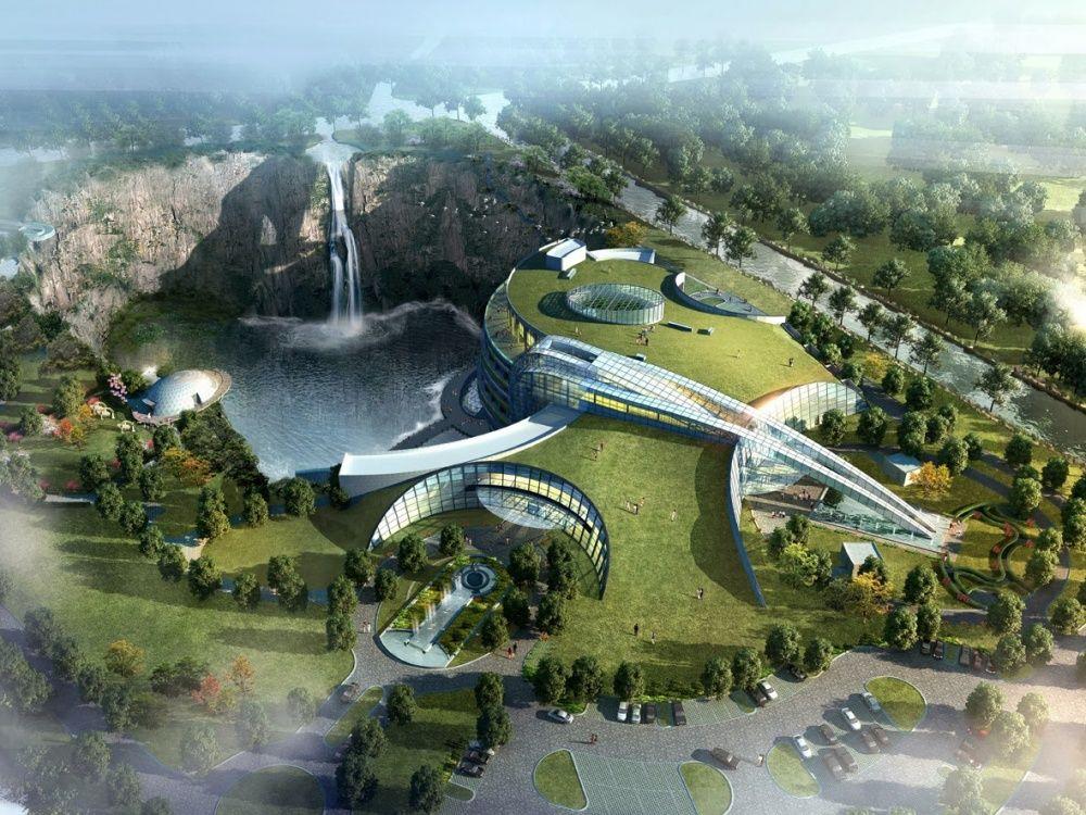 Отель «Сонджанг», который должны построить в Китае