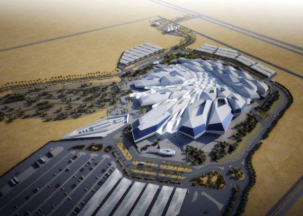 20 лет назад было сложно представить, что можно построить такое. Так, в Саудовской Аравии выглядит центр изучения и исследования нефти короля Абдаллы (KARSARC)