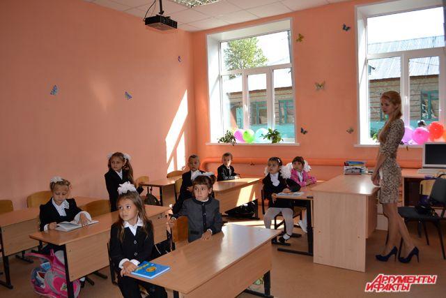 Школа в деревне Янгличи, Канашский район ЧР