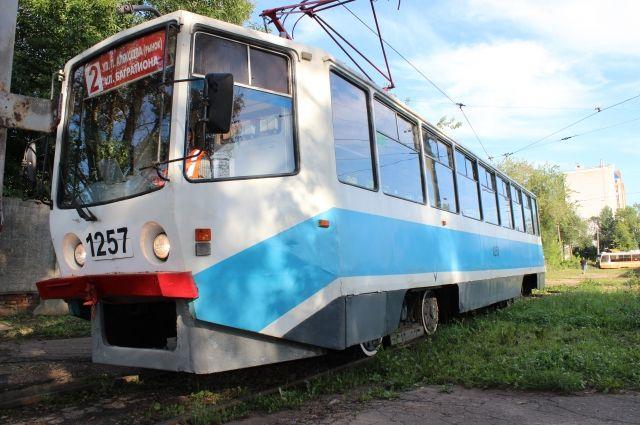 После инцидента трамвай продолжил работу