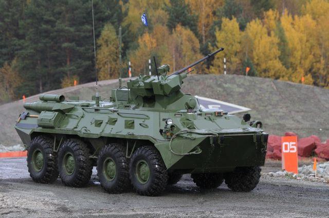 БТР-80 челябинцам продемонстрируют в деле.