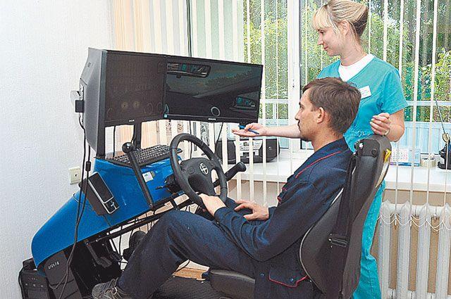 Все тренажёры здесь работают на то, чтобы вернуть пациента к нормальной жизни.