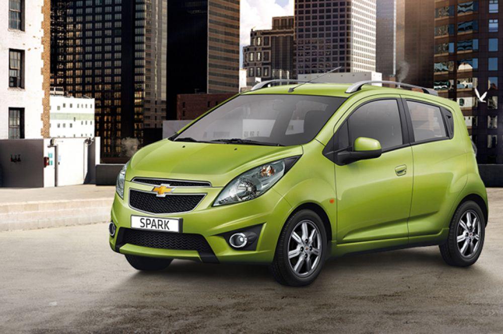 Chevrolet Spark, в России не продается, цена от $14 635.