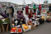 Стихийных пятачков с садовым урожаем в Челябинске всё больше.