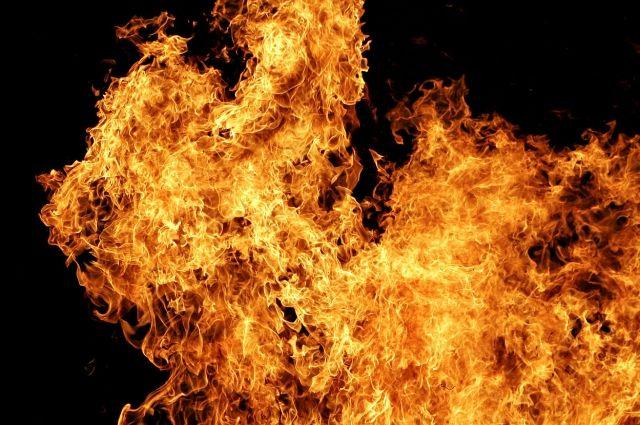 Сгорела часть «Макдональдса» истоявшая рядом иностранная машина — Пожар вГорелово