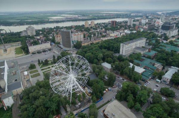 «Одно небо» – это подарок ростовчанам ко дню города от холдинга «Группа Агроком», которым руководит Иван Саввиди.
