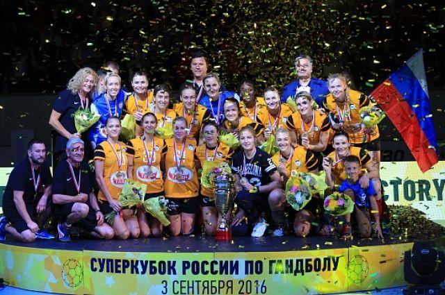 Суперкубок РФ завоевали гандболисткиГК «Ростов-Дон»
