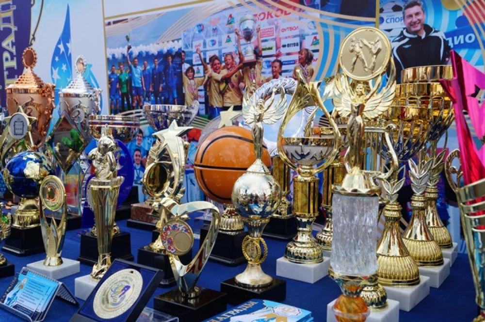 Кубки и медали для будущих чемпионов