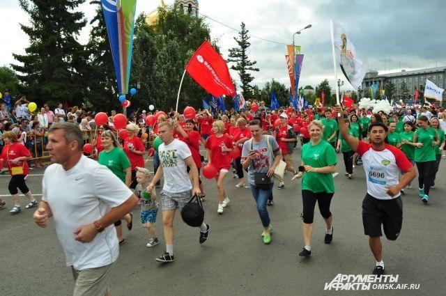 Полумарафон с каждым годом собирает все больше участников