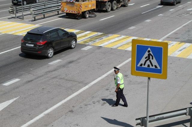 Две машины насмерть сбили пенсионерку вБратске и исчезли сместа ДТП