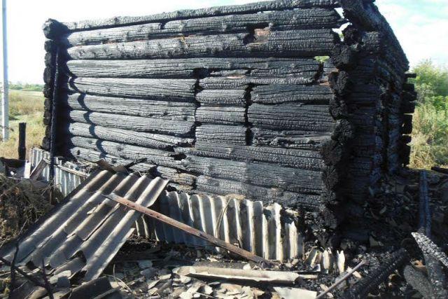 Мужчина изУльяновской области сгорел в своем доме