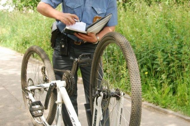 ВоФролово задержаны злобные похитители велосипедов 0
