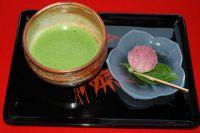 Японский чай матча.