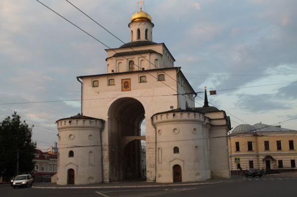 Владимир (Золотые ворота и Успенский собор)