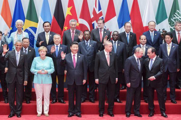 После приветствия прошло совместное фотографирование глав делегаций.