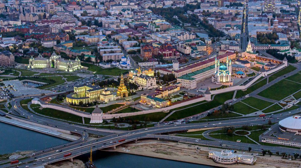 Казань (Казанский кремль и Казанский (Приволжский) федеральный университет)